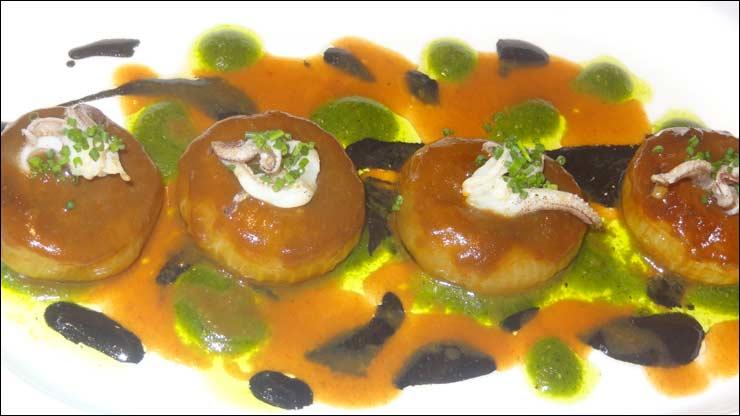 chipiron espinacas: